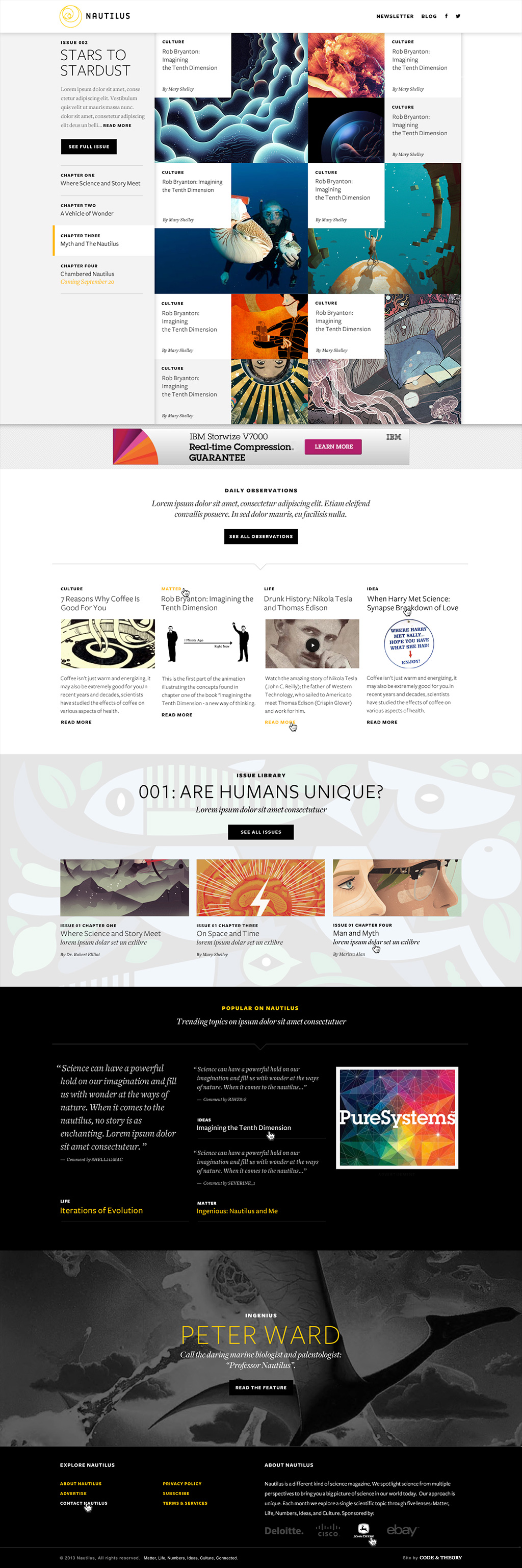 Responsive Philosophy Things We Make Code And Theory Web Design Trends Web Design Code And Theory