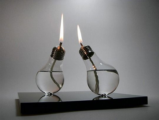 Recycling lamp
