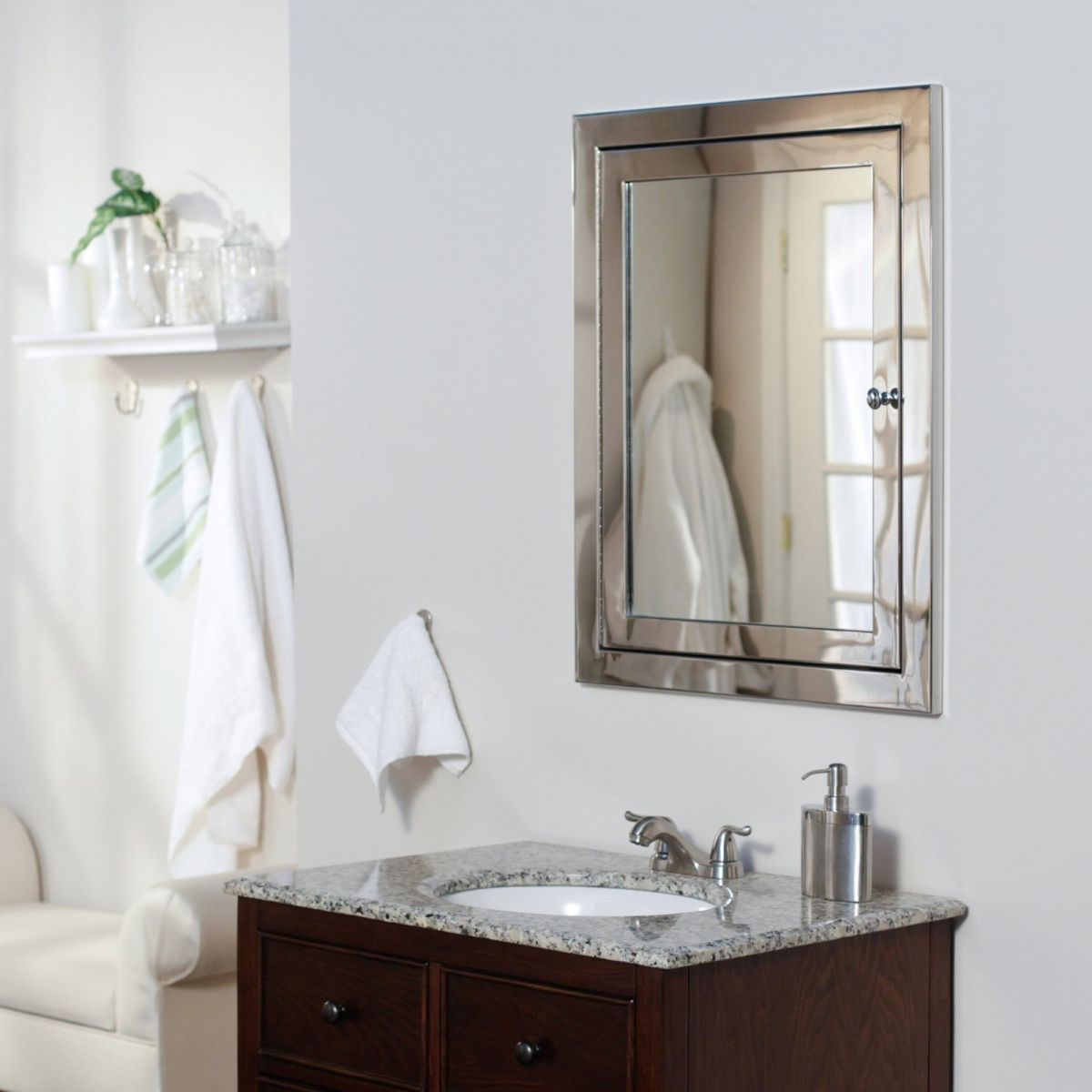 Bathroom Medicine Cabinets Recessed bathroom medicine cabinets recessed mirrors | house | pinterest