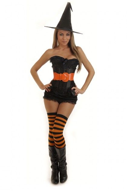 20 Witch Costumes and DIY Ideas 2017 - IdeaStand