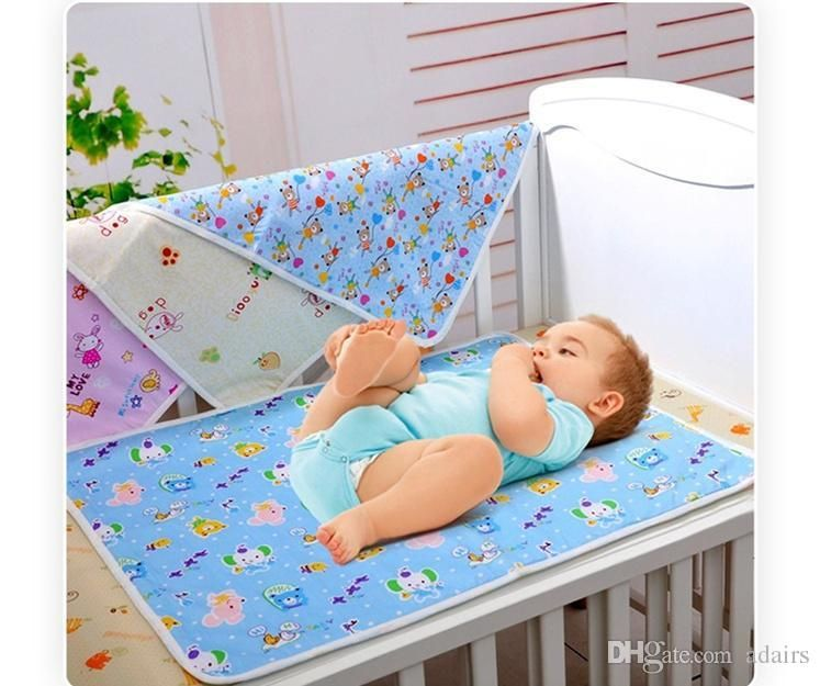 Baby Waterproof Cotton Urine Mat Home Travel Cover Infant Hot Burp Changing Pad