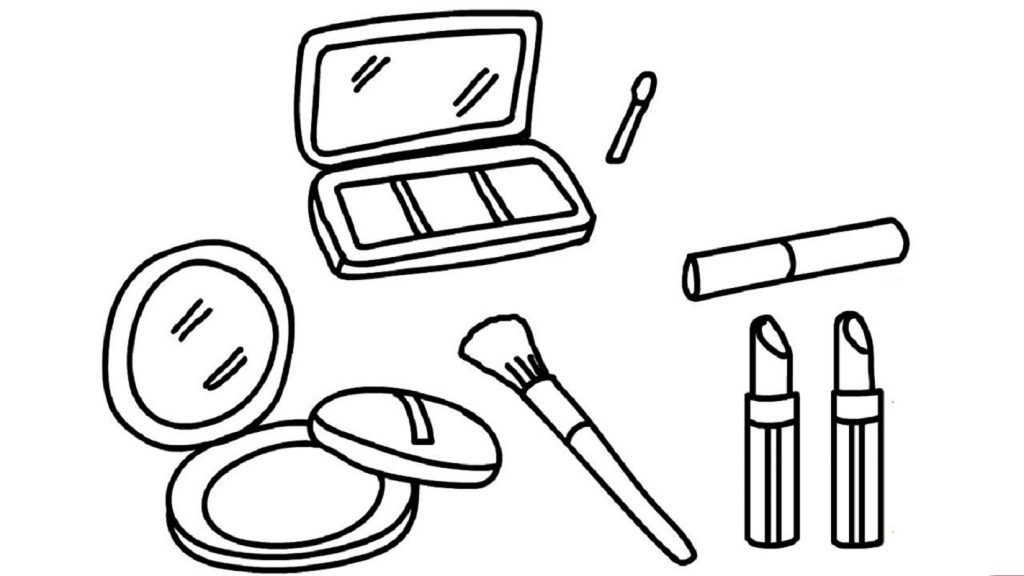Makeup Coloring Pages Makeup Free Download Educative Printable Free Makeup Coloring Pages Coloring Sheets For Kids