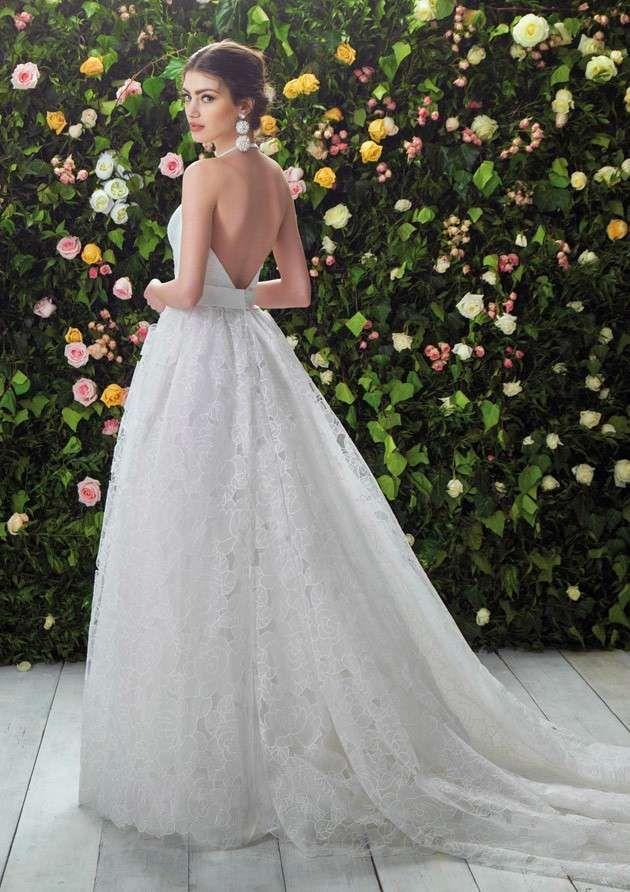 14aae90b2057 Abiti da sposa Blumarine collezione 2017 - Abito con schiena nuda Blumarine