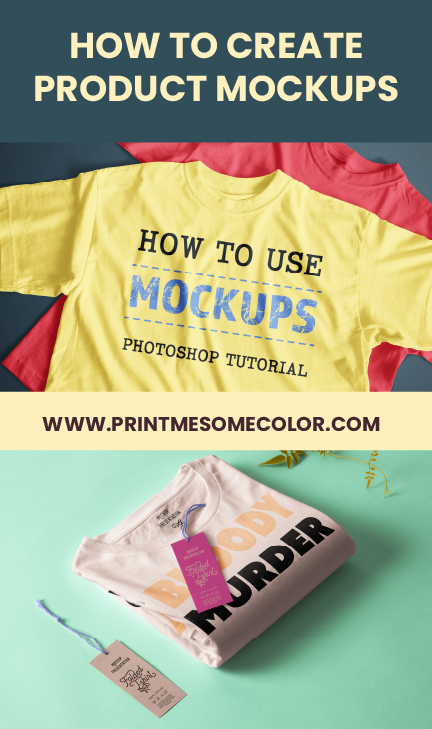 Photoshop Tutorial On How To Use Mockup Templates And Create Product Mockups For Free Links For Sites To Get Free Mockup D Photoshop Tutorial Mockup Photoshop