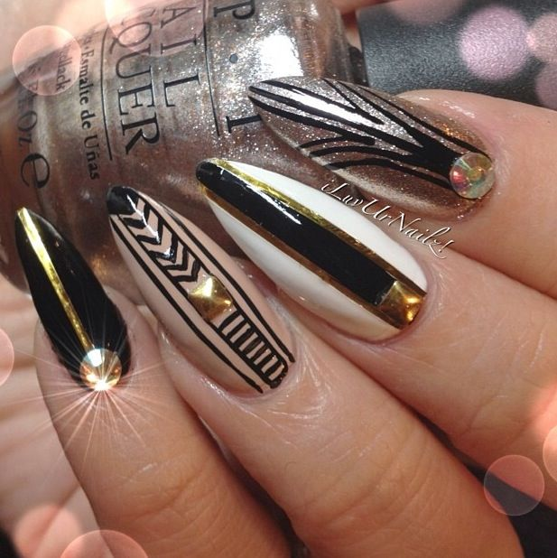 #nail #unhas #unha #nails #unhasdecoradas #nailart #gorgeous #fashion #stylish #lindo #cool #cute #fofo #moderno #chic #elegante