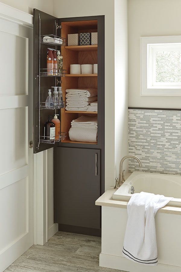 This Bathroom Essential Features A 5 Deep Chrome Door Rack That Makes Items More Accessible