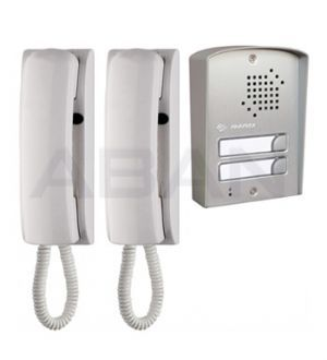 Farfisa Audio Intercom And Door Entry System 2 Way Surface Audio Kit Entry Doors Intercom Corded Phone