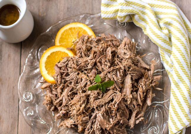 Grass Fed Kitchen | Cuban Roast Pork