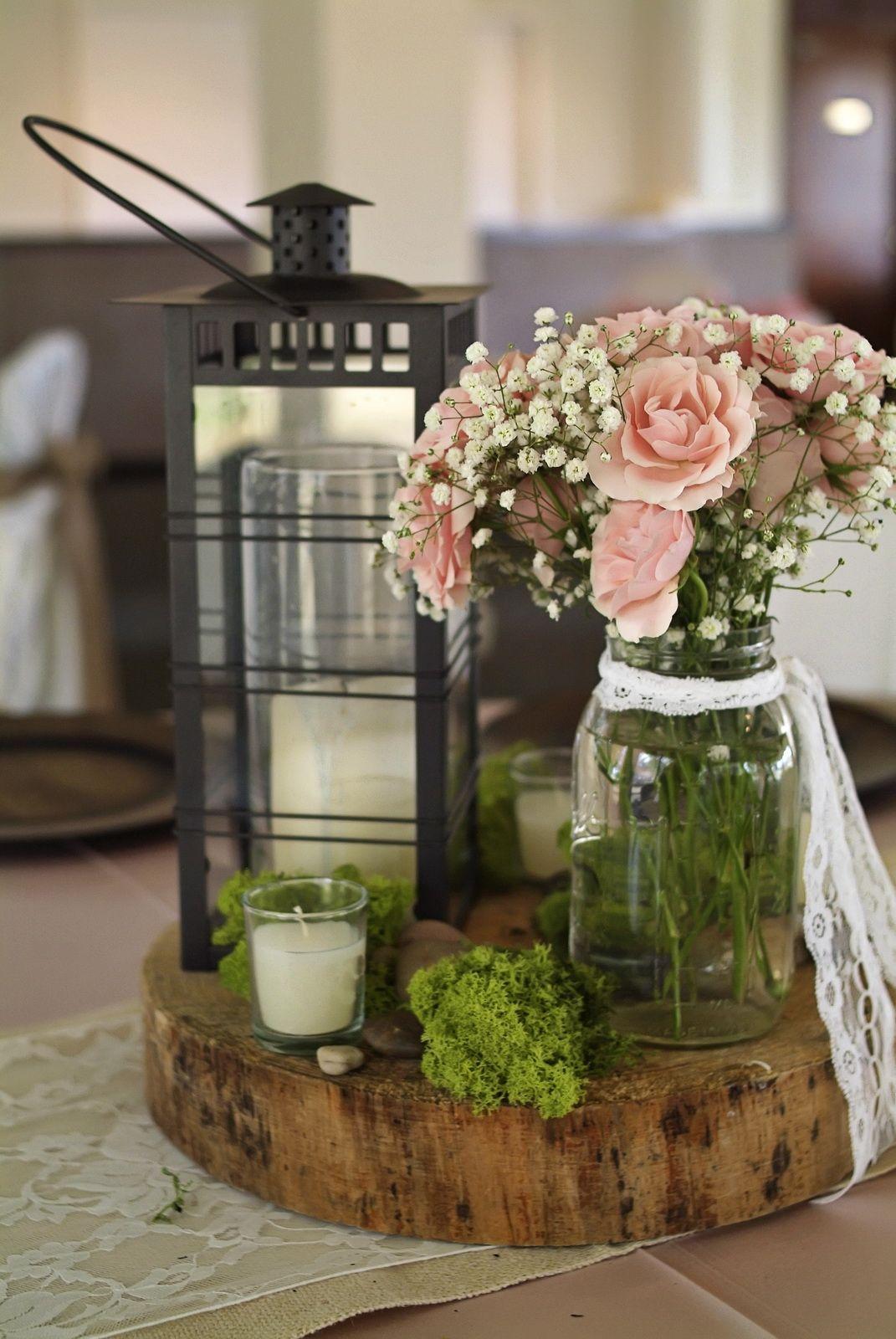 45++ Rustic wood wedding centerpieces information