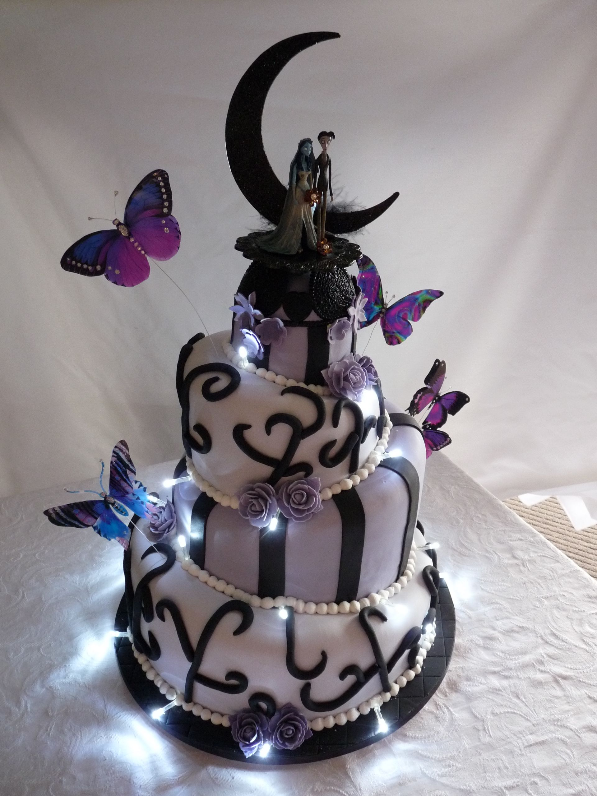 Corpse Bride wedding cake Thank you so much for sharing your