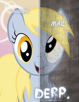 MLP - Two Sides of Derpy? by *TehJadeh on deviantART