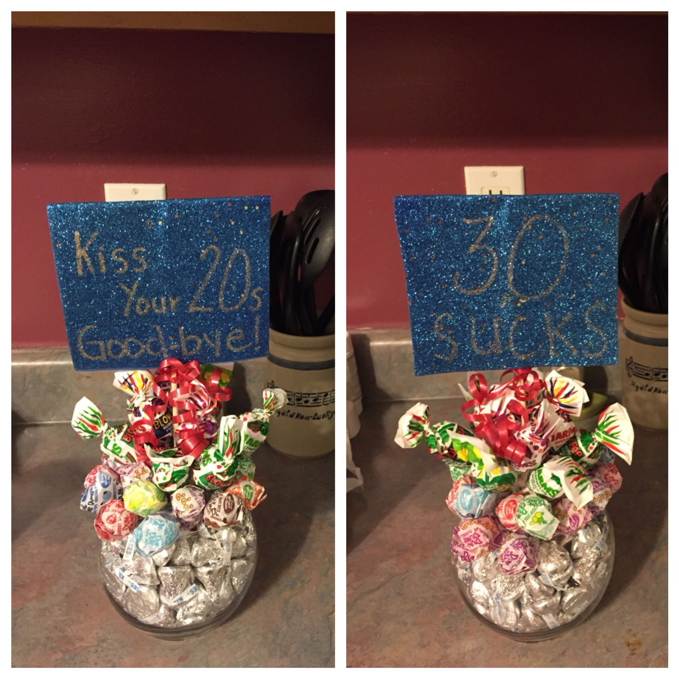 30th Birthday T Giving Ideas Hershey Kisses