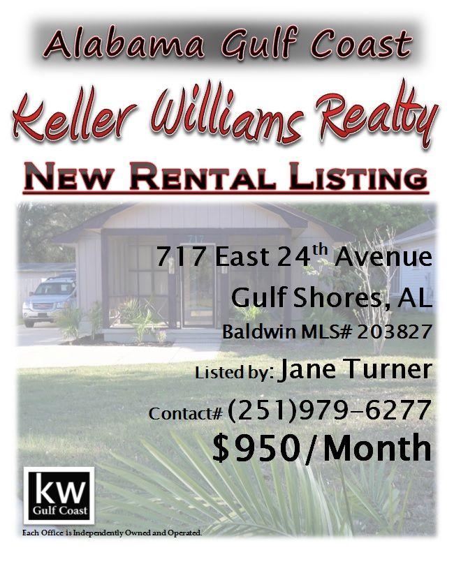 Availibility For Livinit Gulf Shores Al Vacation Rental: NEW RENTAL LISTING: 717 East 24th Avenue, Gulf Shores, AL
