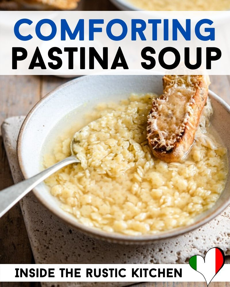 Photo of Comforting Pastina Soup – Italian Chicken Noodle Soup
