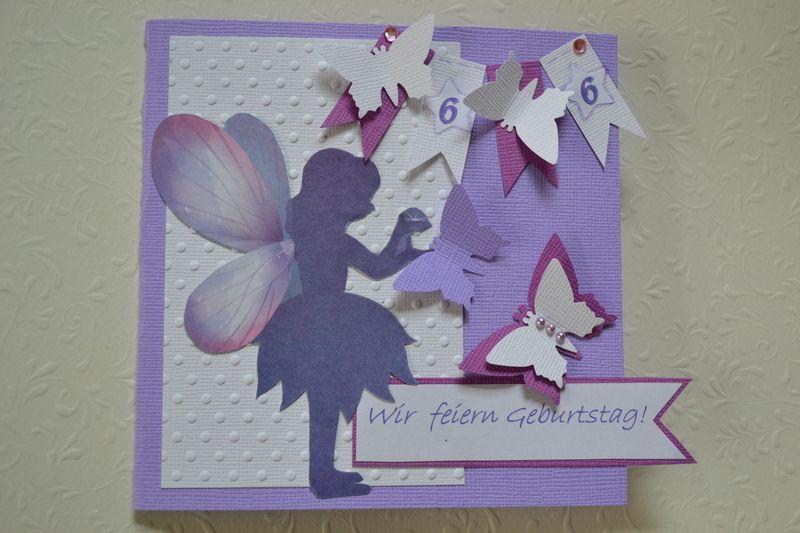 Einladungskarten   Einladung Kindergeburtstag Glückwunschkarte Fee   Ein  Designerstück Von Leoniejette Bei DaWanda