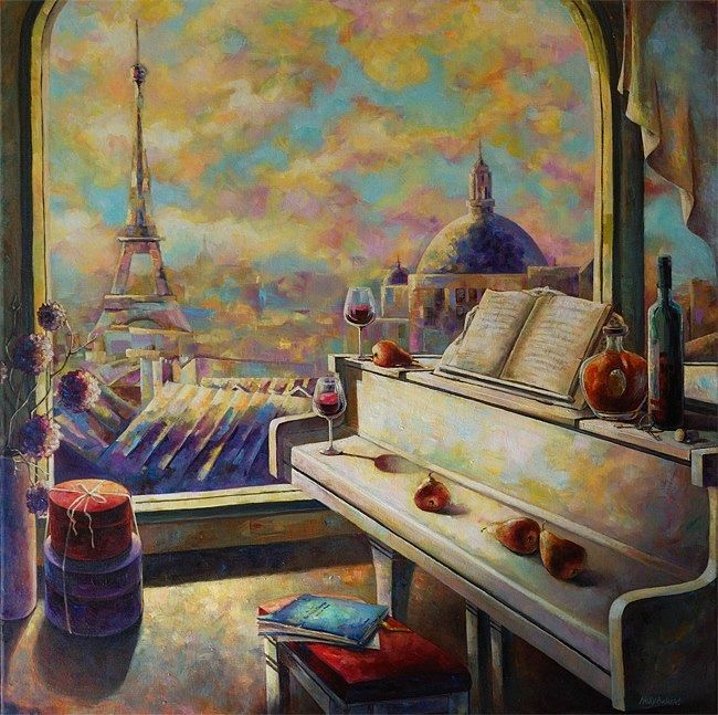 Paris by Nelly Baksht