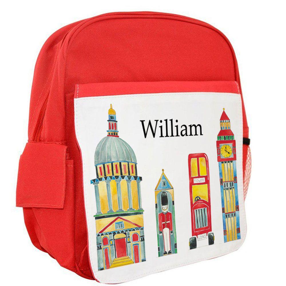 London Ruck Sack Tigerlily Prints Kids bags, School