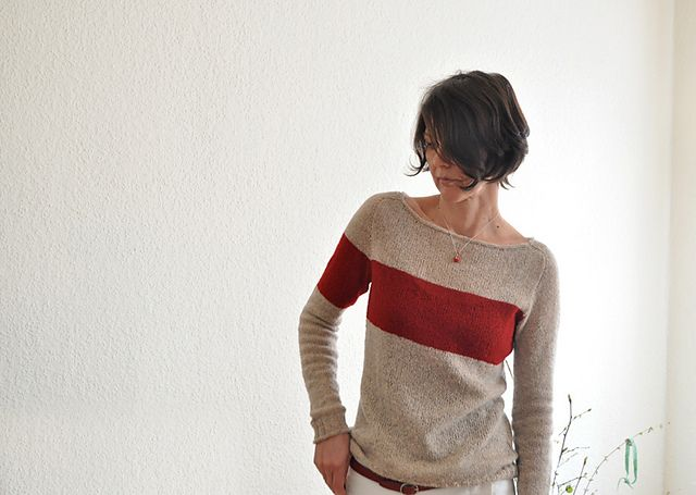Love the hair. Love the sweater pattern! Ravelry: Holsten pattern by ANKESTRICK