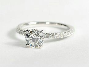 Simple But So Beautiful Engagement Rings Wedding Engagement