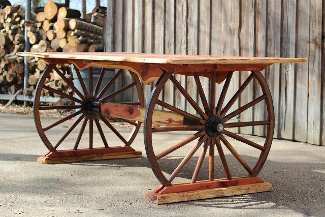 Turquoise Inlay Wagon Wheel Table Wagon Wheel Decor Wheel Decor
