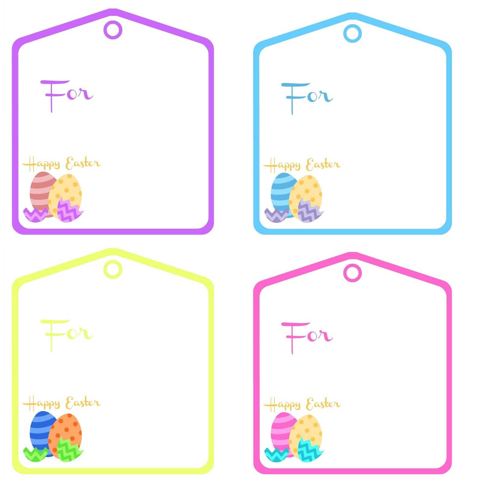 Freebie Friday [Easter Tags