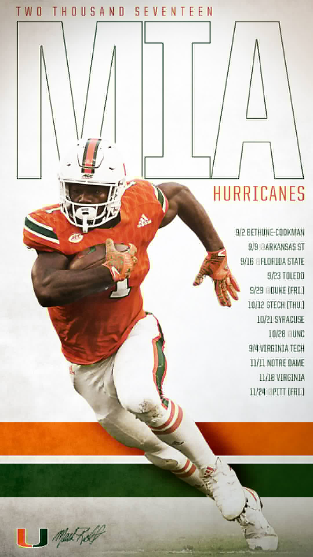 Pin by SkullSparks on College Football Graphics Miami