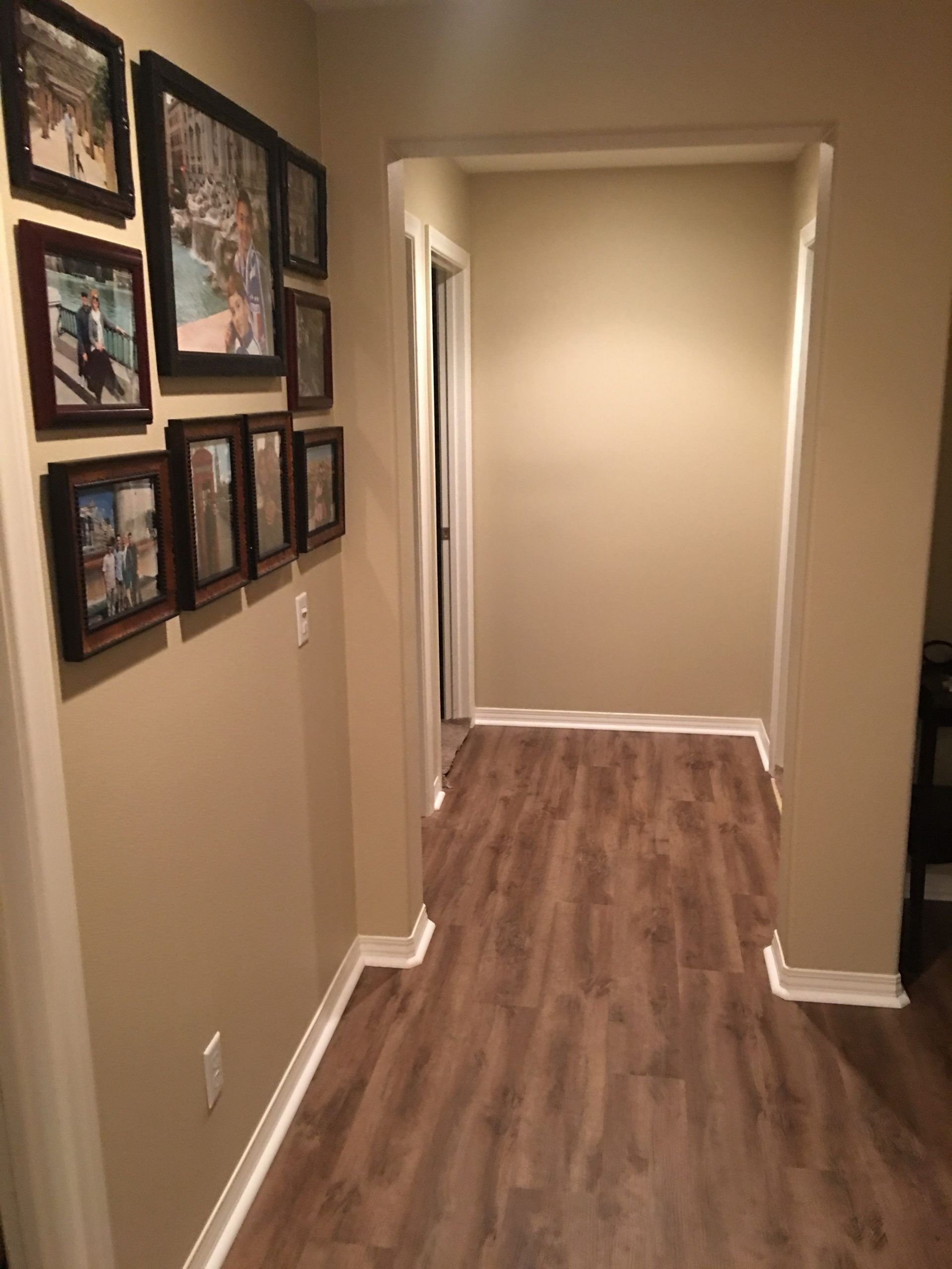 Bedroom Flooring Different Than Hallway