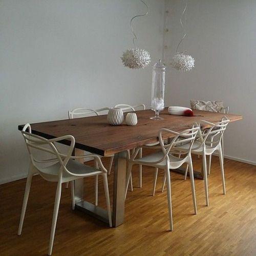 Urbnite kartell masters chair light up pinterest for Designer esstisch replica
