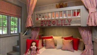 Le lit à deux étages | Maison papa | Pinterest | Étages, Lits et ...