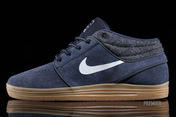 A Gum Sole and Suede Upper Highlight This Nike SB Lunar