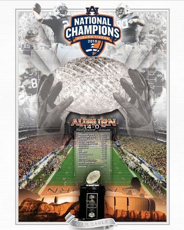 Here S The Poster Auburn Gearing Up For National