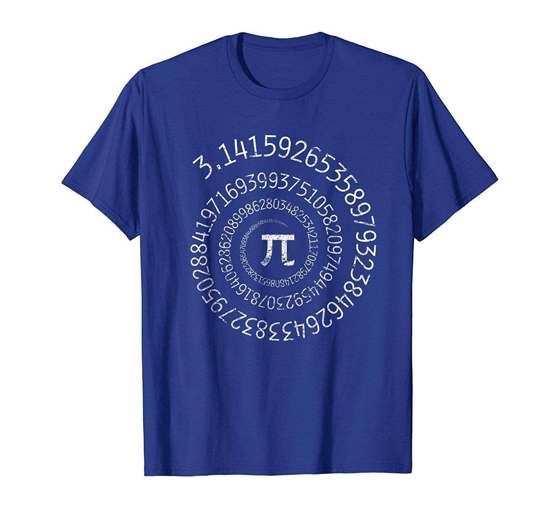Pi Day Shirt Spiral Pi Math T Shirt For Pi Day 3 14 Colonhue