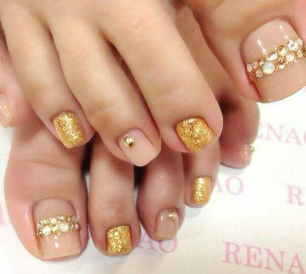 Pin by Cassie Vega on Nails   Pinterest   Pedi and Makeup