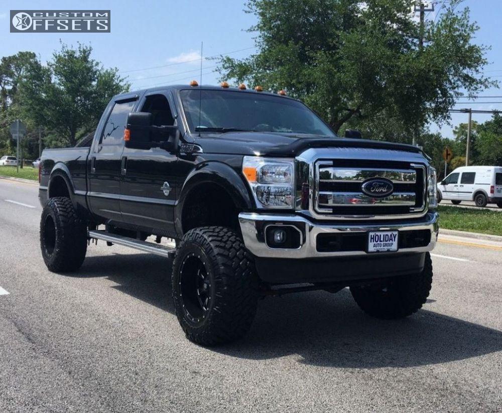 47455 4 2016 f 250 super duty ford suspension lift 8 fuel 513 matte black super