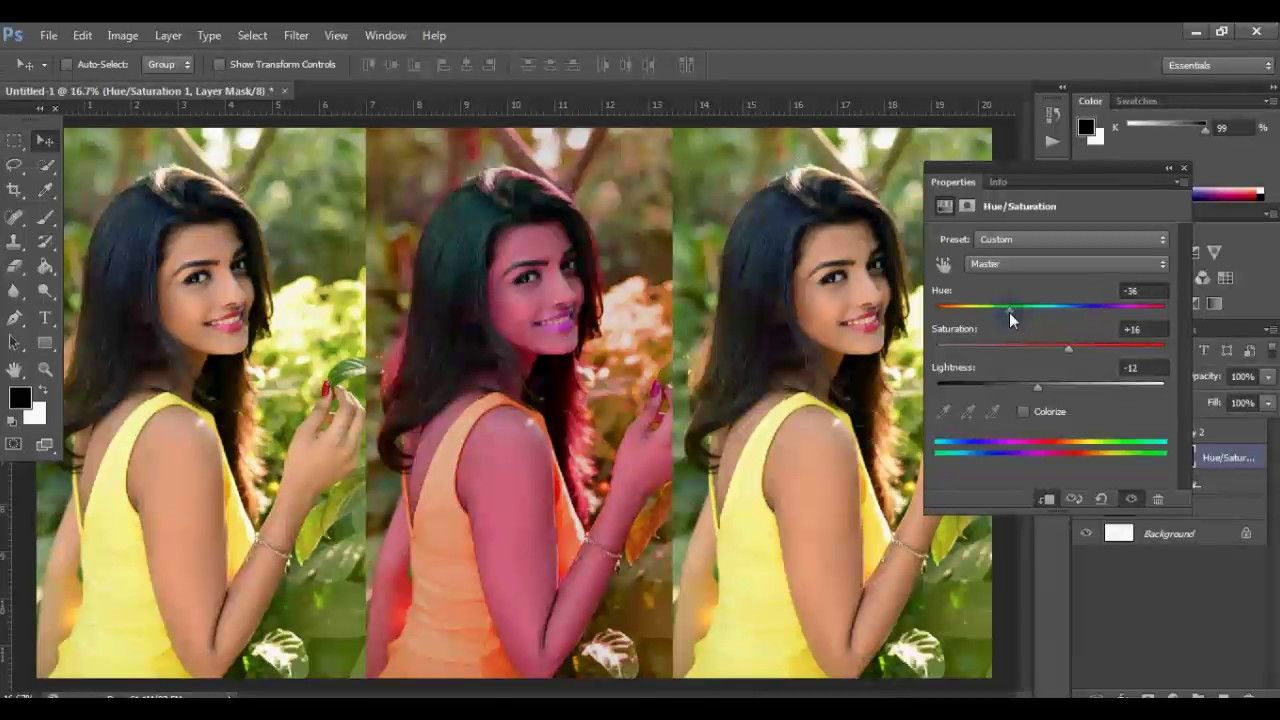 Color correction in photoshop tutorial for beginners adobe color correction in photoshop baditri Image collections