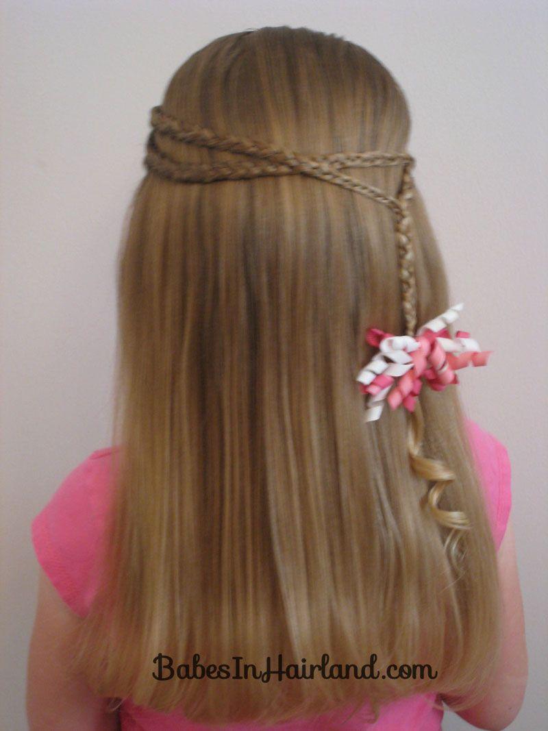 Wrap Around w/Little Braids Hairstyle | Hairstyles :D ...