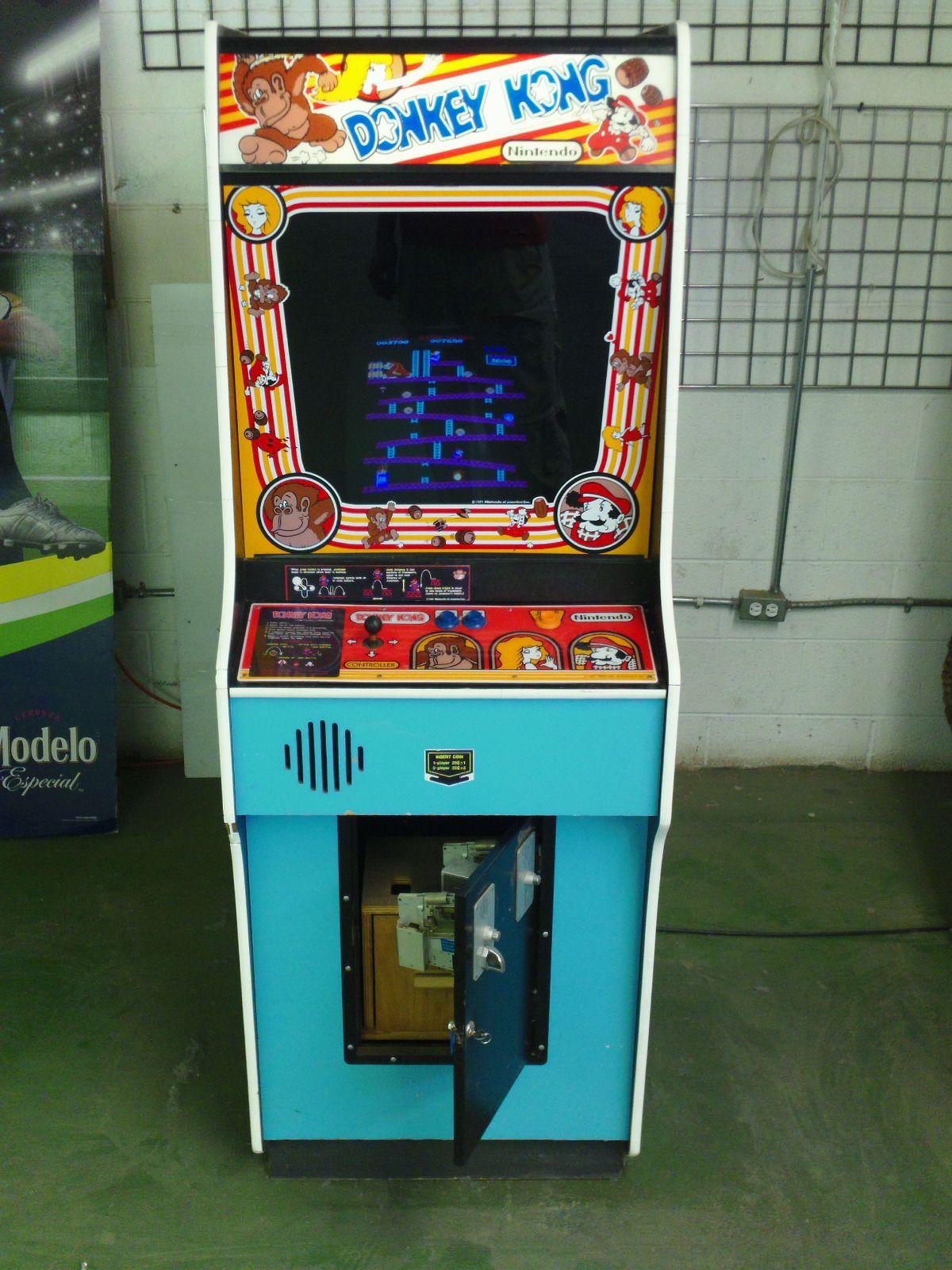 Details about Donkey Kong 1981 Classic Arcade Donkey
