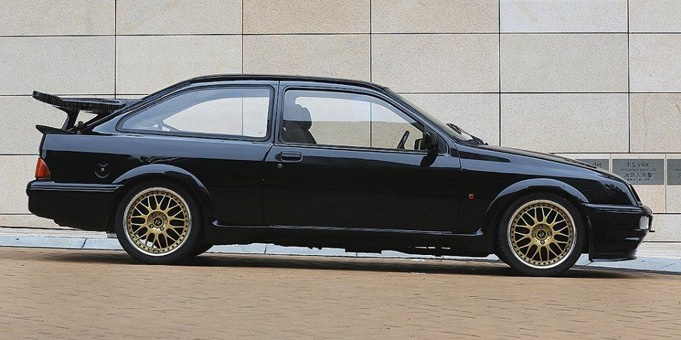 Ford Rs Cosworth With Bbs Youngtimer Historisches Fahrzeug