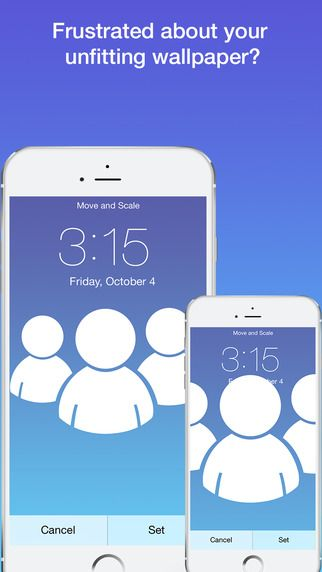 Fixing Ios 7 Wallpaper Woes How To Scale Crop Align Design Iphone Wallpaper Size Wallpaper Fix Ios News