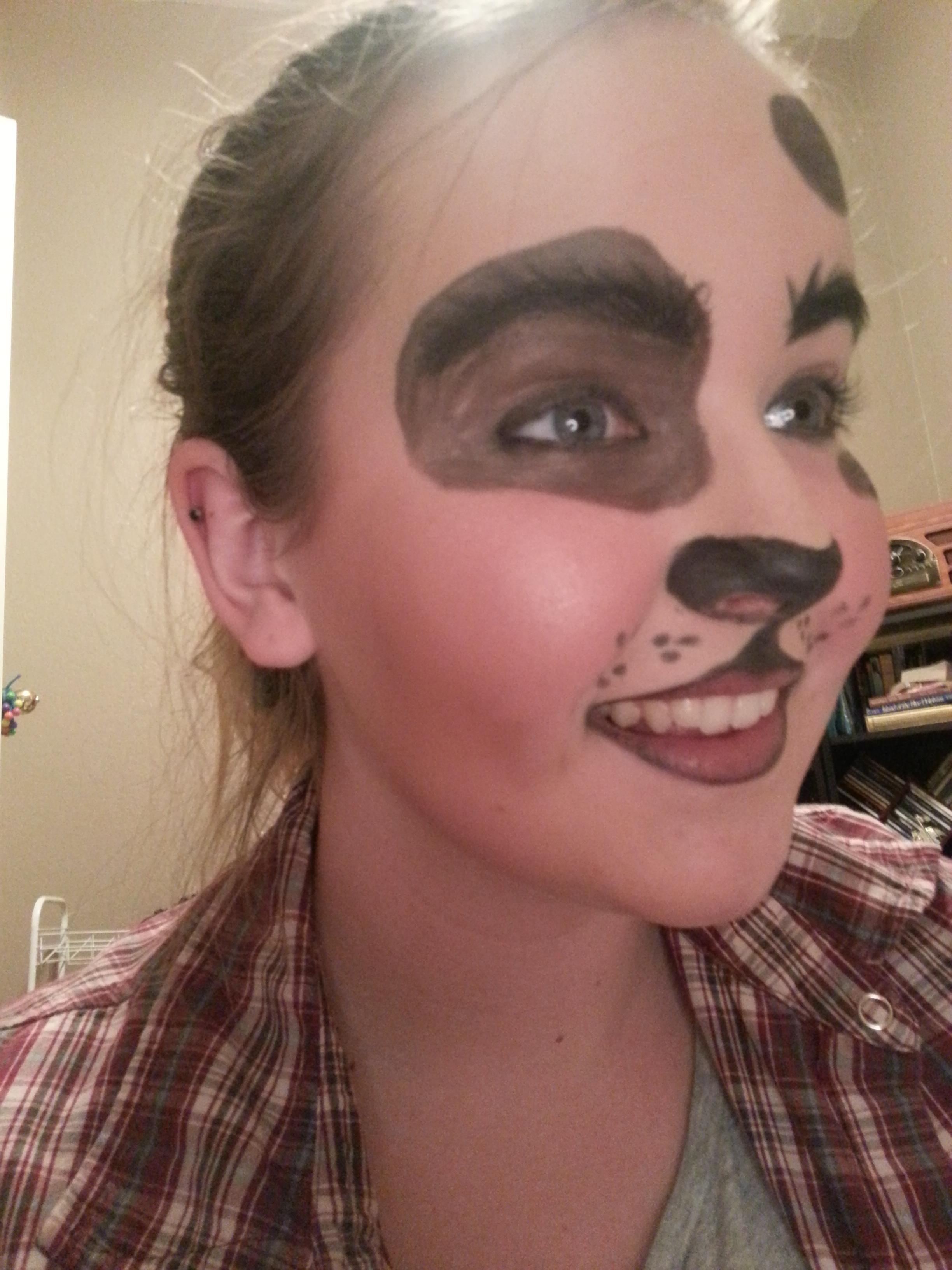 Dog Halloween Makeup.Pin On Cute