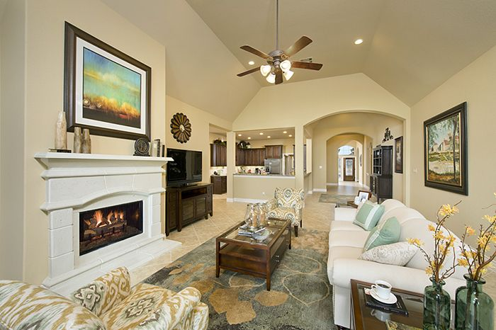 Perry Homes Firethorne Model Home Design 3257w In Katy Tx Living Spaces Pinterest