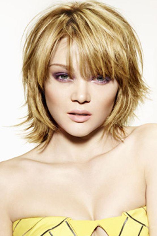 Coupe de cheveux femme mi long glamour