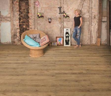 Lame Vinyle Clipsable Imitation Parquet   Wineo 800 Wood XL