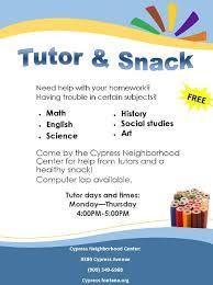 free sample tutoring flyers google search