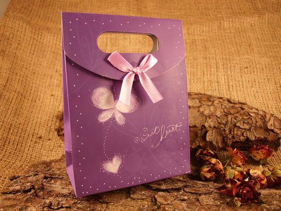 5 Stück Geschenkbox Gastgeschenk Faltschachtel von SackundPack, €2.90