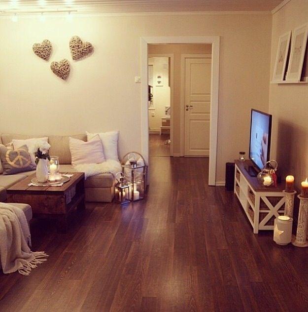 Gemütliches •kleines• Wohnzimmer | Einrichtungsideen Haus ...