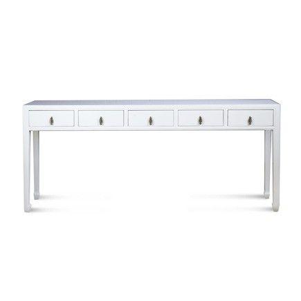 Mandarin Long Console Table Extra Long Console Table Console Table Long Console