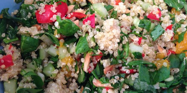 COLORFUL QUINOA SALAD  Healthy Facts Inc. - Your Guide to a Healthy Tomorrow!