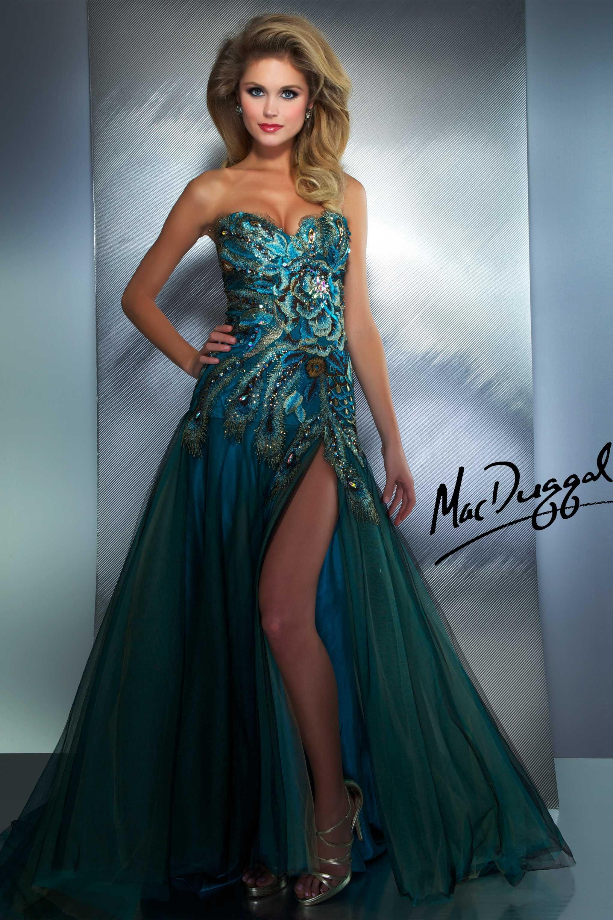 Peacock dress. @Ryann Arnink please please please wear this | All ...