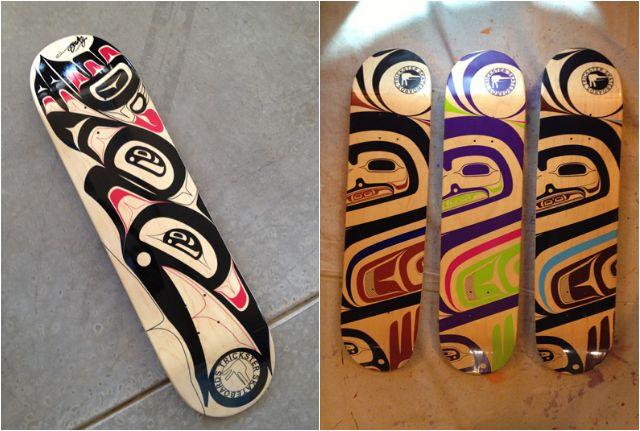 Using Skateboard Culture To Preserve A Native Art Form Native Art Art Forms Art